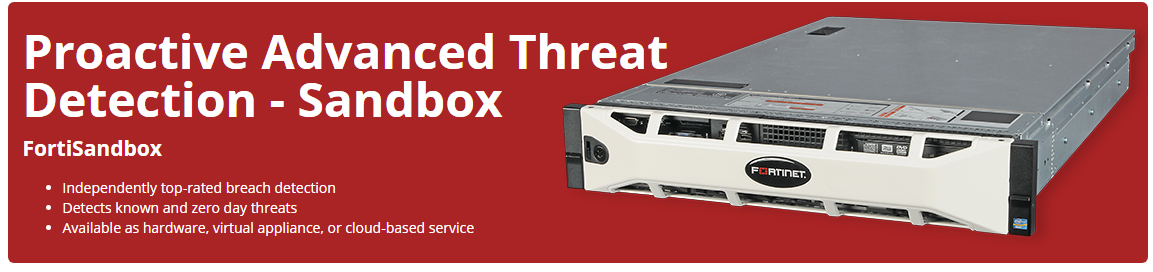 Fortinet Advanced Persistent Threat Detection