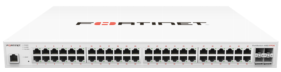 Fortinet FortiSwitch 448D-FPOE